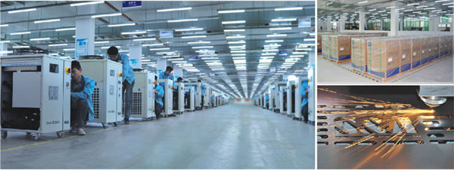 S&A охладитель лазера для лазера волокна автомата для резки